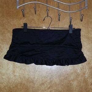 Ruched Bikini Swim Skirt
